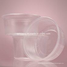 Recipiente de alimento plástico claro del OEM de la fábrica china (PP 011)
