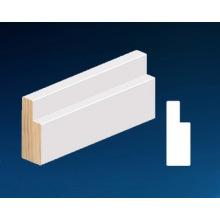 Material decorativo de madera Gesso Primed Frame Molding