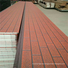 Brick Insulated Metal Wall Panel For Prefab House