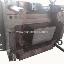 Car bumper molding plastic injection mold