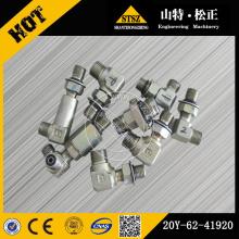 Komatsu pelle pièces de rechange komatsu PC200-7 coude 20Y-62-41920