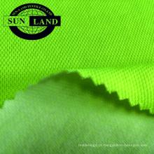 capa de poliéster tecido de algodão pique de malha para camisas polo