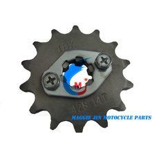 Piñón delantero de piezas de motocicleta para motocicleta Bajaj