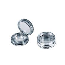 Round Empty Cosmetic Loose Powder Case