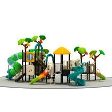 Nouveau design pré-scolaire grand plastique enfants équipement de terrain de jeux extérieur