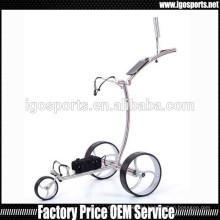 Trolley de golfe de aço inoxidável