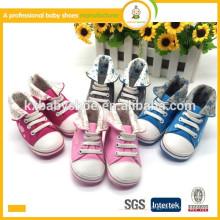 Оптовая продажа самых продаваемых горячих продажи прекрасной новорожденной бренда детей спортивной обуви низкой цене