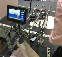 HP teknolojisi toplu enjekte baskı makinesi