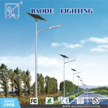 Lumière solaire de vent de 6m 30W