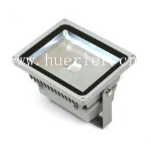Aluminium carré 100-240v 110v 220v IP65 extérieur 50w projecteur led projecteur éclairage éclairé ce rohs