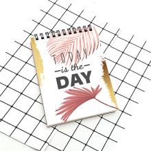 Heute ist der Tag A5 Spiralspulen-Notebook