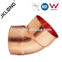 J9007 45 Deg Cotovelo de cobre, Conexão de cobre