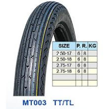Motorrad-Reifen, Reifen vorn 2.50-17 2,50-18 2,75 2,75-17-18