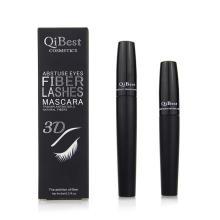 Qibest 3D Fiber Lashes Mascara Mascara Cosmétiques