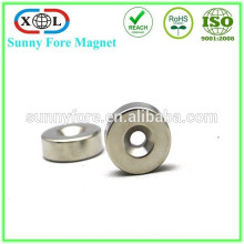 permanent type countersunk magnet