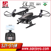 RC Quadcopter JXD 516W HD Camera Wifi FPV 2.4G 6-axis RTF Professional long time flying RC Drone with Altitude Hold