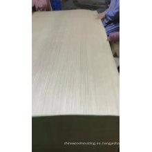 Piel de la puerta de chapa de madera de roble blanco
