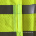 ANSI107 желтый Mesh дешевый защитный жилет для мотоцикла со стандартной отражающей лентой