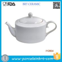 White Porcelain England Tea Pot Fine Bone China