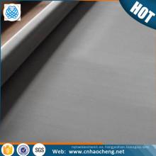 En stock 150 180 200 250 malla colector de corriente de malla N4 N6 filtro de tela de malla de níquel puro