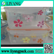 Flower Color Design, Heat Transfer Film for Lunch Box