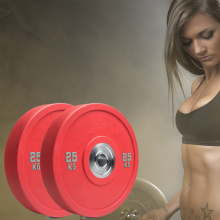 Tampa de Borracha Barbell Weight Plate