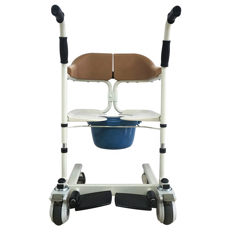 Transfer Chair With Commode 3