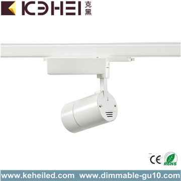 25W White LED Track Lights For Clothing Store