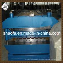 Doppelschicht-Deckung, die die Rolle bildet, die Maschine bildet (AF-D1025/1000)
