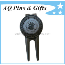 Professional Manufacturer Golf Divot Tool with Ball Marker (Golf-01)