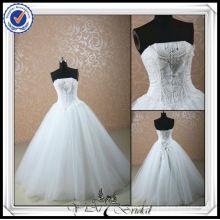 JJ0068 Vestidos de boda ocasionales del vestido de bola moldeado 2013