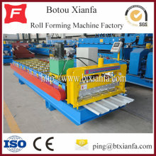 Sheet Metal Profiling Roll Forming Machine For Roof Panel