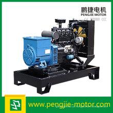 Gerador de tipo aberto do motor diesel do ímã permanente Genset com taça de Smartgen e ATS