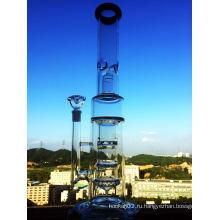 Фабрика Оптовая Hitman 47 см боросиликатного материала Стеклянная водопроводная труба