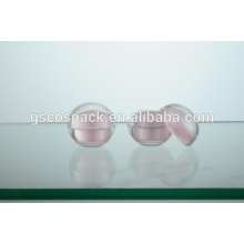 Top quality pink Acrylic jar
