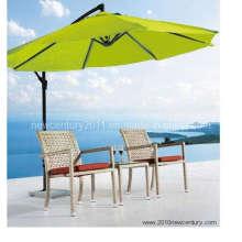 Praia/Rattan/vime/cana-de-mesa e cadeira (7032)