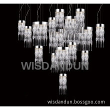 New Clear Glass LED Pendant Lamp Hanging Lights