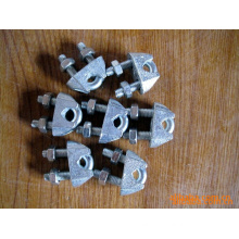 Us Type Galvanized Malleable Wire Rope Clamp