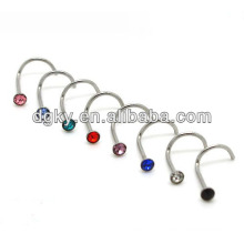 316L stainless steel slave nose rings
