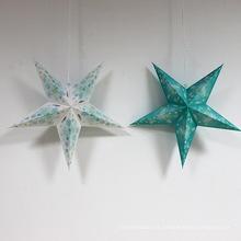 Estrela de Natal de papel para itens de festa de decoração de Natal