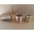 Custom CNC Machining Flange Brass Bushing Bushes