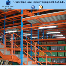 Multi Tier Warehouse Rack Mezzanine System