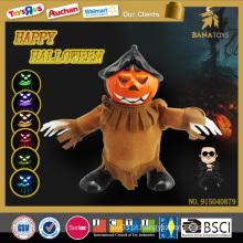 Hot sale halloween item gangnam estilo música brinquedo abóbora halloween adereços