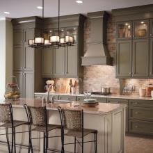 Modern Full Set Modular Melamine Kitchen Cabinets