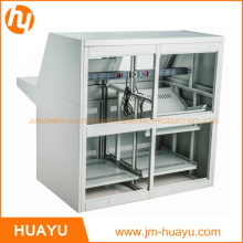 Professional White/Black Control Console Waterproof Standard Sizes of Floor-Standing Cabinet