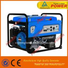 venda quente china insonorizadas lpg 12 volts portátil de gerador