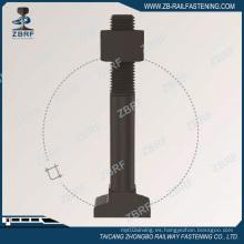 Perno en T con tuerca hexagonal para fijación J2