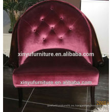 4-star hotel project mobiliario comercial soild silla de marco de madera silla XY2496