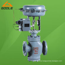 Válvula de control neumática de doble asiento (GAZJHN)