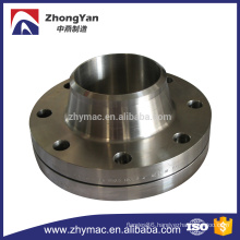 carbon steel rf weld neck flange
